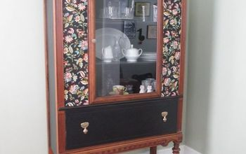 The Water-Logged China Cabinet