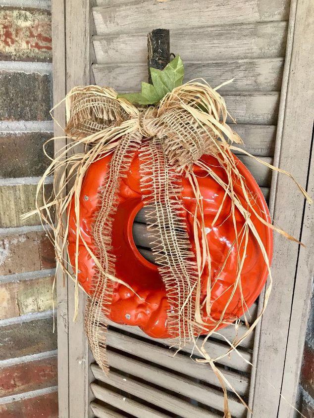 jello mold pumpkin decoration easy
