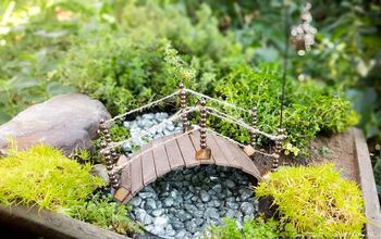 Turn a Recycled Plastic Container Into a Fairy Bridge