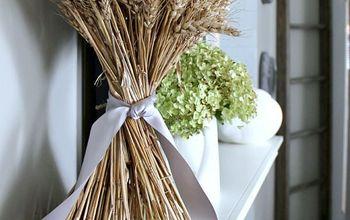 DIY Classic Wheat Sheaf Fall Decor