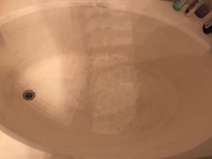 q how do i really clean my tub