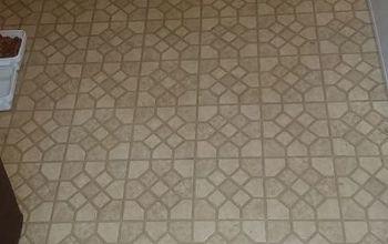 q how to paint a linoleum floor