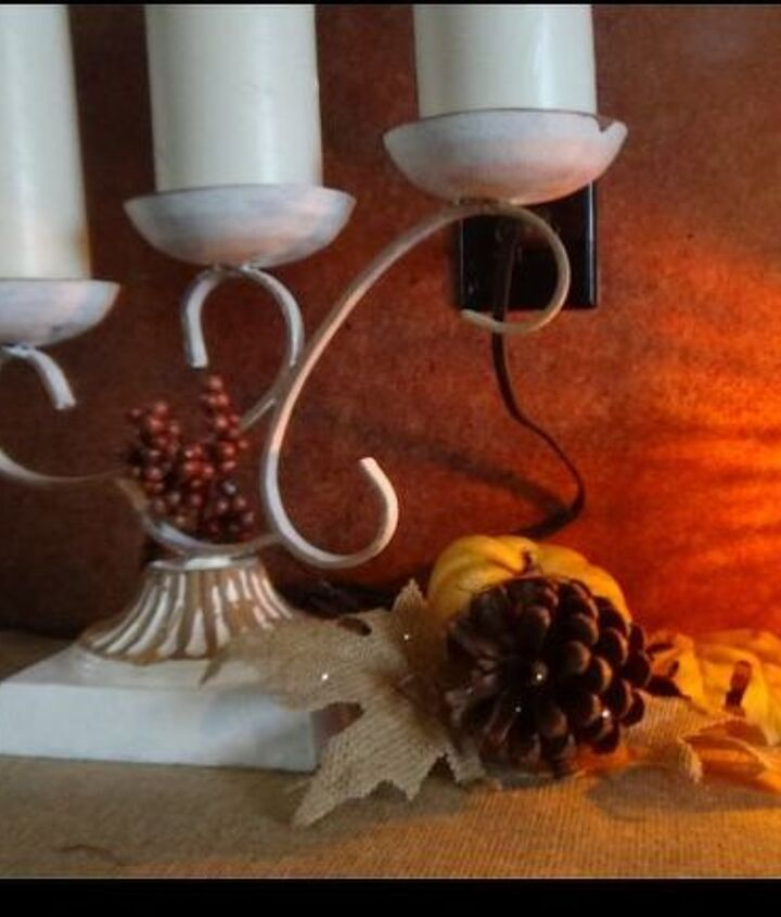 great update with paint for fall decor