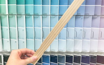 5 brilliant ways to use paint stirrers to make home decor