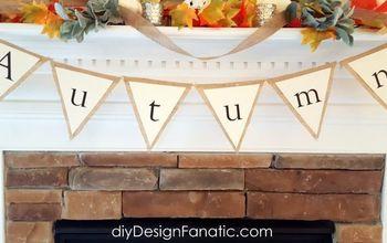 Make A Cute Autumn Banner