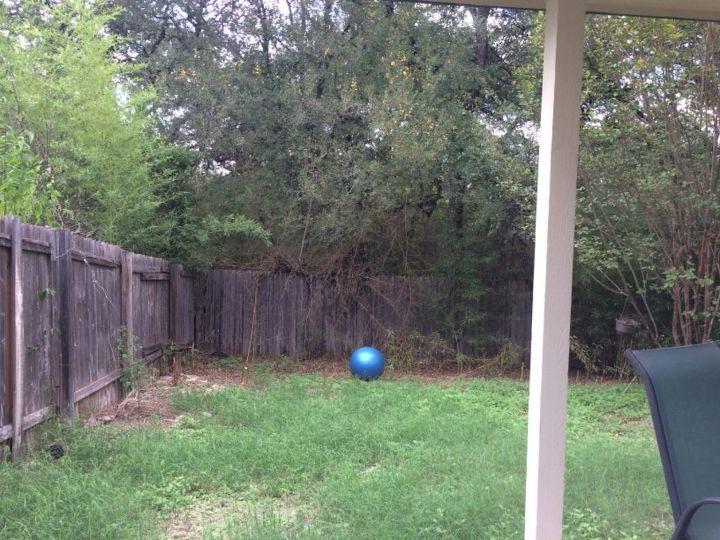 q how do i make my backyard inviting
