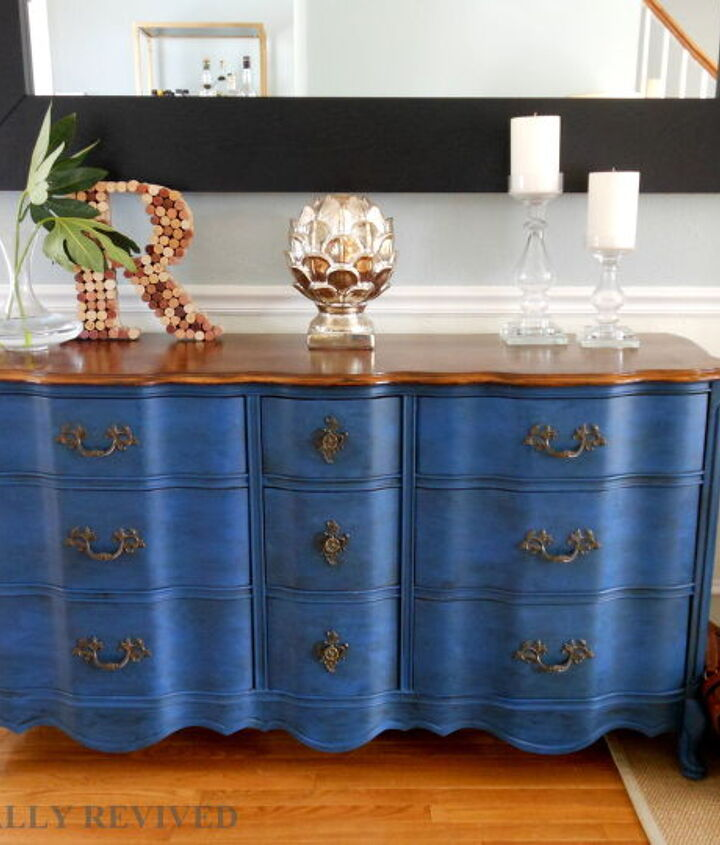 s 10 of our favorite ways to paint that old piece, This deep blue sea of awesomeness