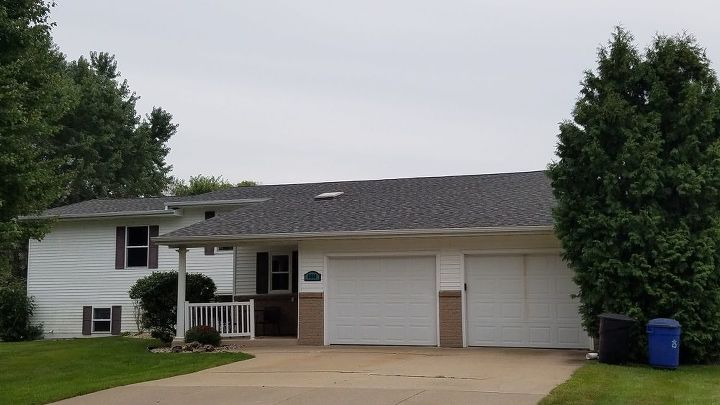 q we have a new roof that doesn t match the rest of the exterior help