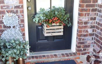 fall window box for your door