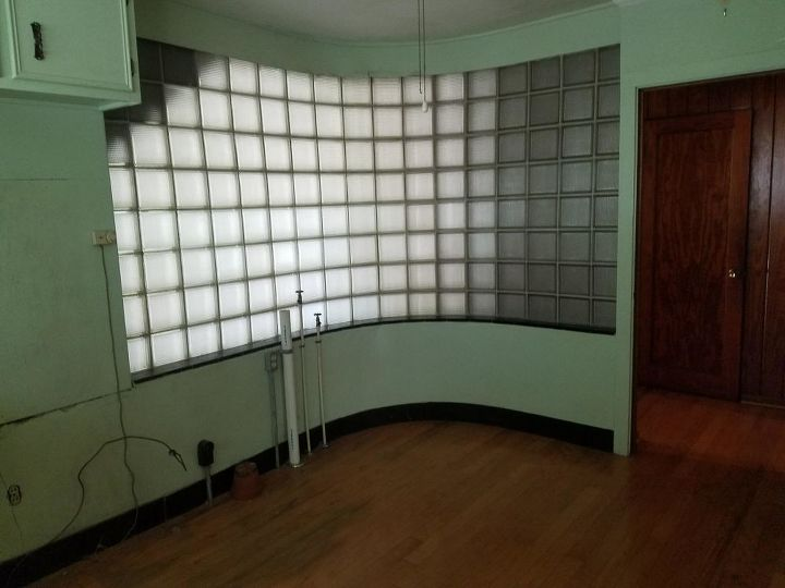 q how do i restore this glass block wall in my 1912 home