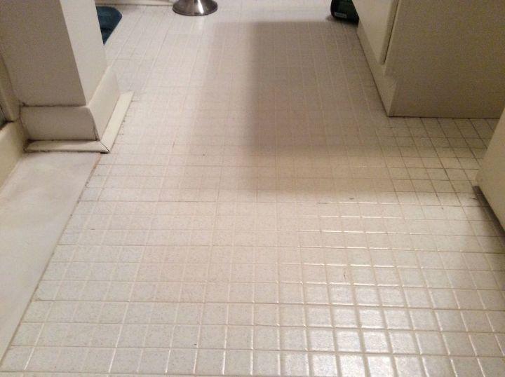 q help with bathroom floor