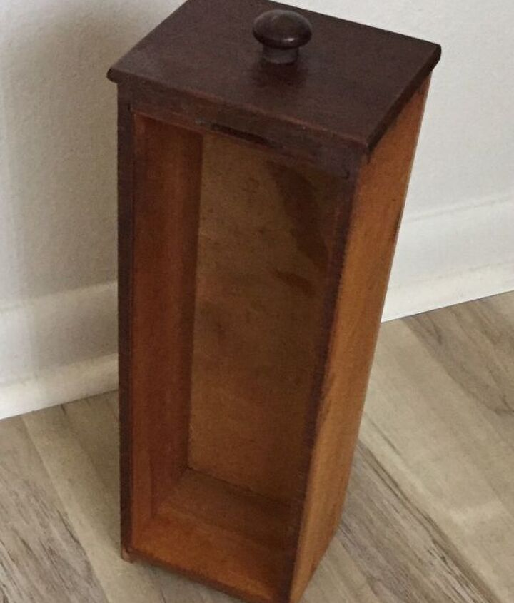 Antique Sewing Cabinet Drawer