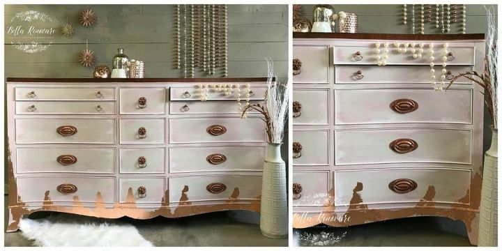 learn how to use powder glaze on furniture the easy way