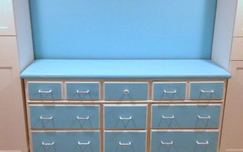 old dresser gets new look with chalk paint and diy jeweled handles
