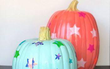 iridescent star pumpkins