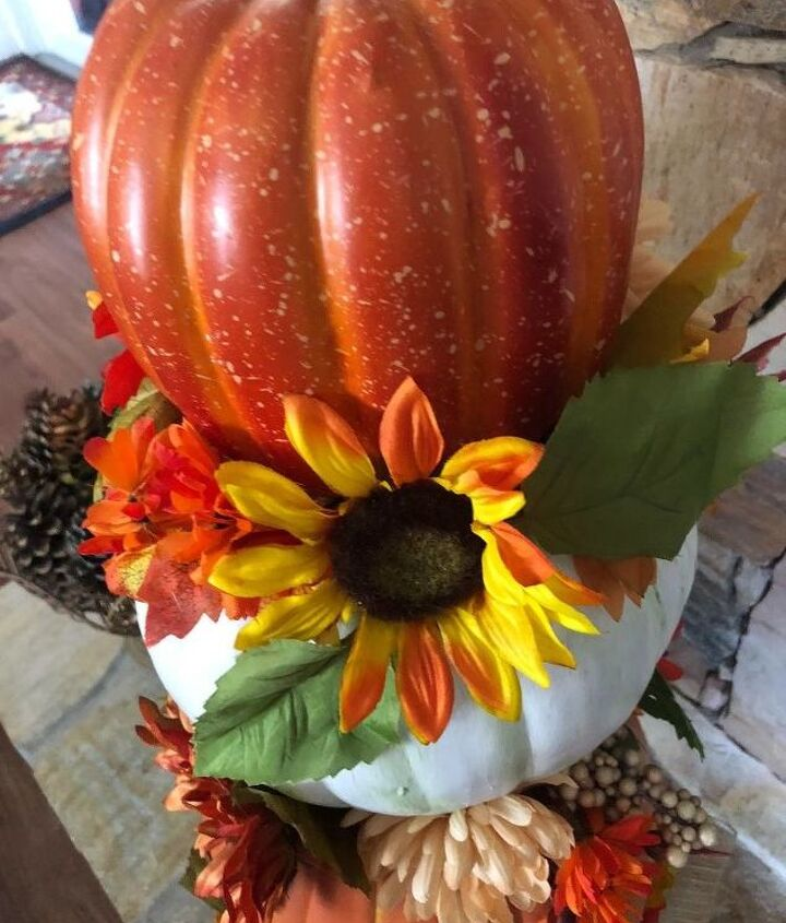 pumpkins upcycled