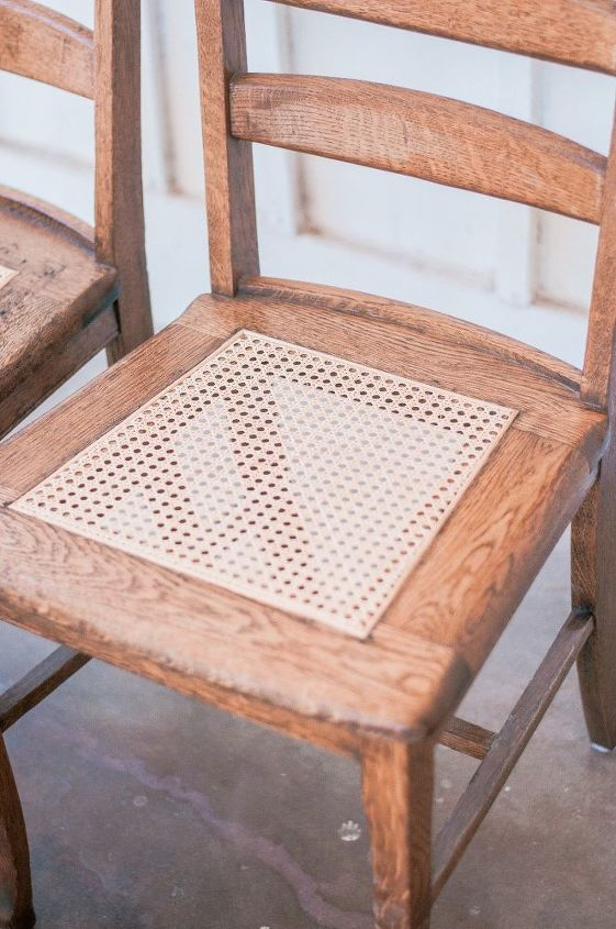 Easy Diy Wood Cane Dining Chair Makeover Hometalk