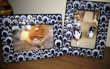 spooky eyeball halloween picture frames