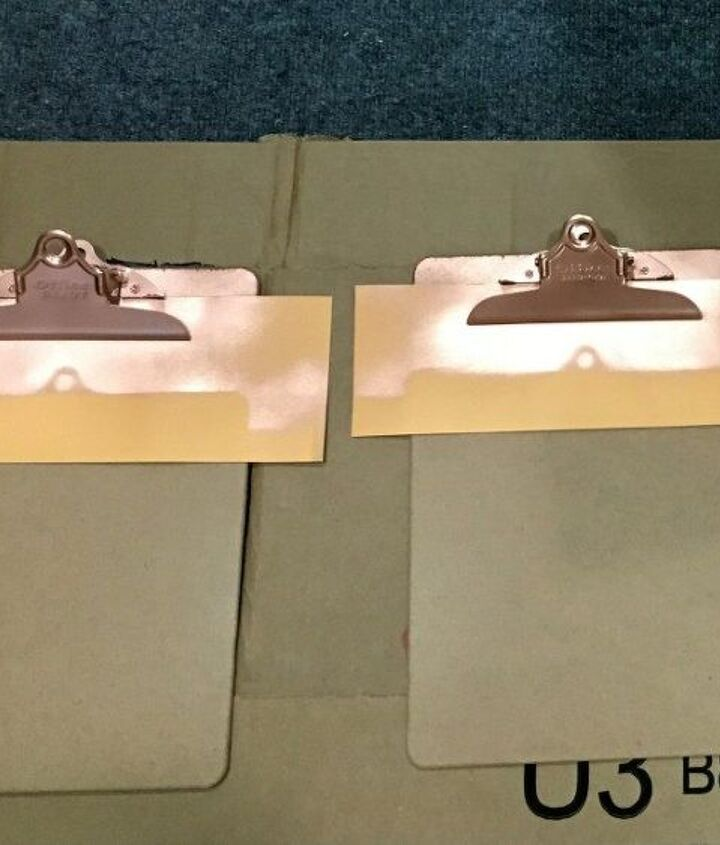 diy custom clipboards 3 ways