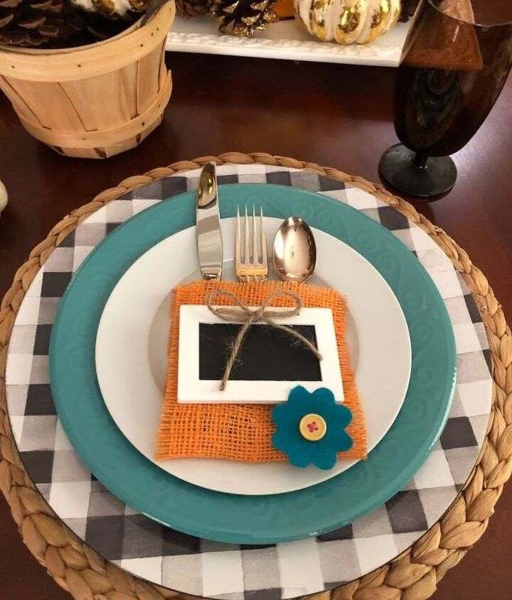 a beautiful tablescape on a budget building the place setting part 1