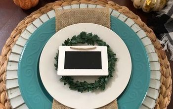 A Beautiful Tablescape on a Budget-Building the Place Setting - Part 1
