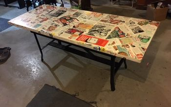 a funky table, Good view of the top