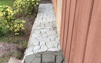 Garden Cobblestone Design Walk-path