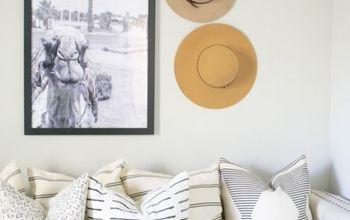 A GUEST BEDROOM MAKEOVER: UNDER $100