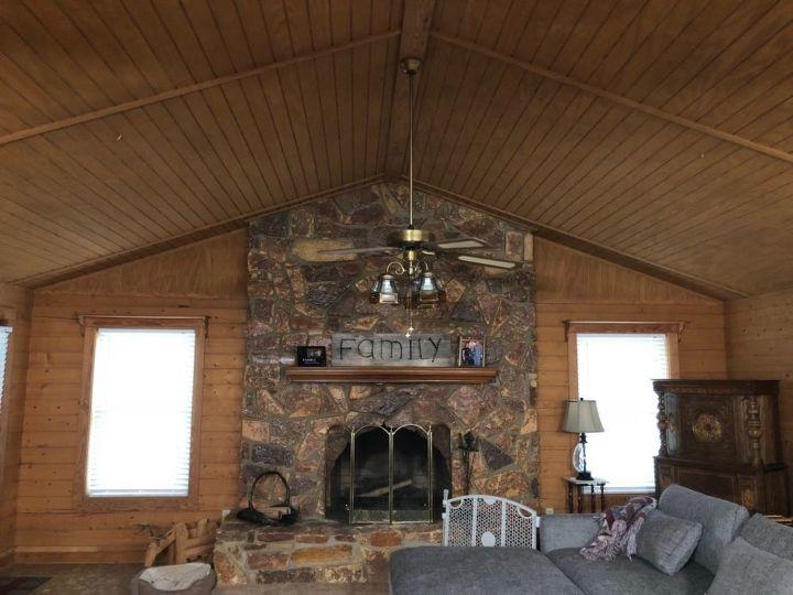 q lighten up a solid wood log home