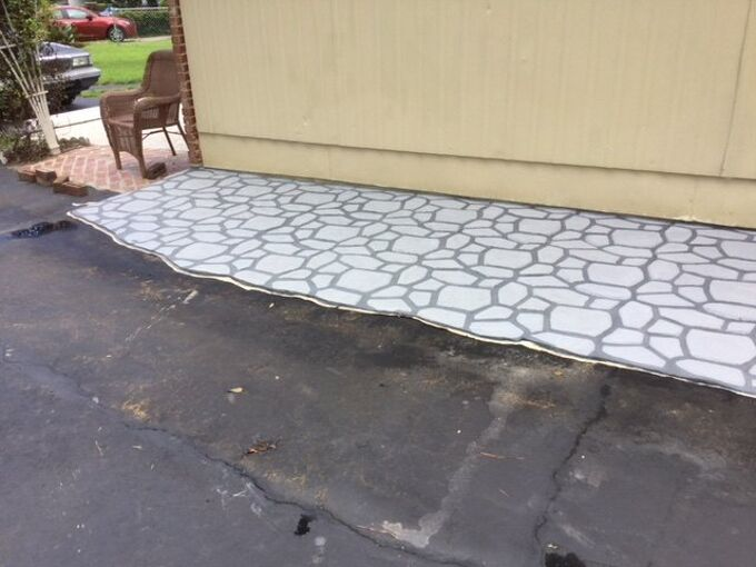 q how to cover dents on an aluminum siding wall