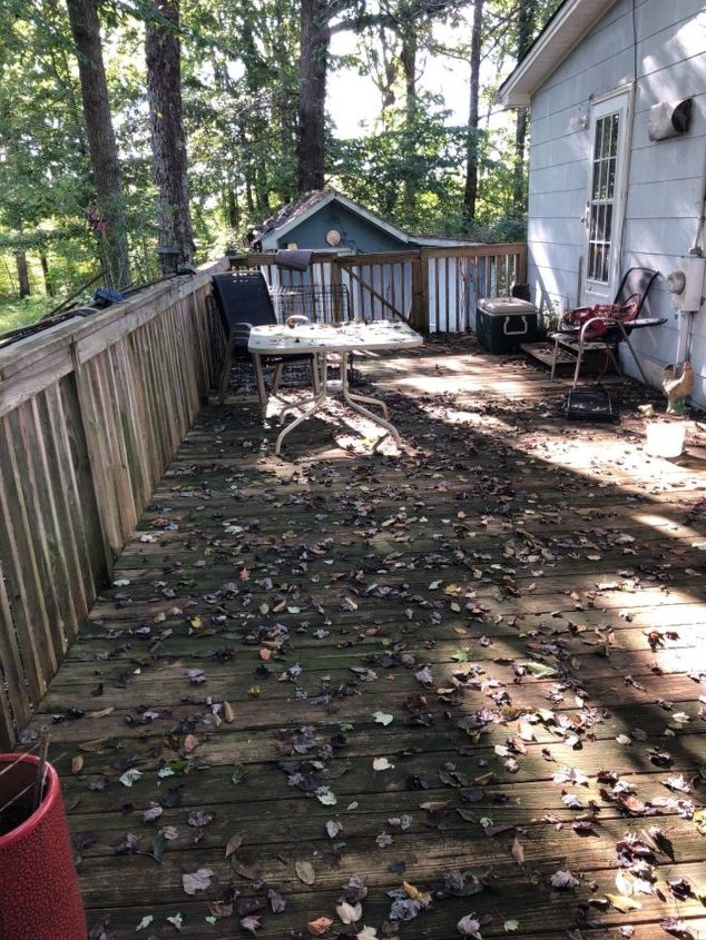 q how do i restore life to my deck