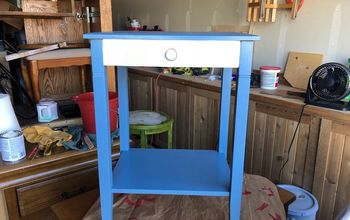 cute little side table make over