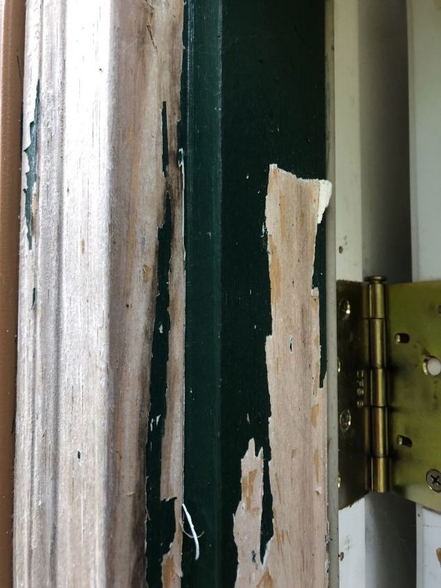 How Do I Remove Peeling Paint Amp Primer From Door Frame