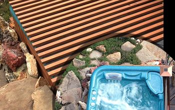 DIY Rollable Cedar Hot Tub Spa Cover
