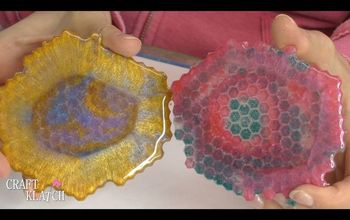 freeform resin coasters diy