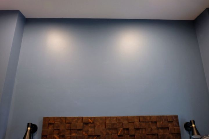 update a wall with trim