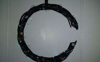 Crescent Moon Wreath
