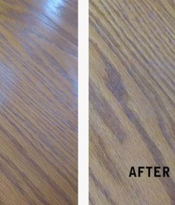 how to remove a water stain from your wood furniture in 5 minutes