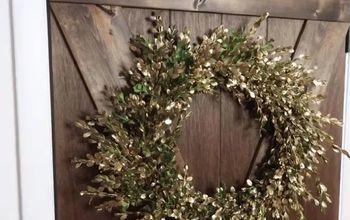 easy diy boxwood fall wreath