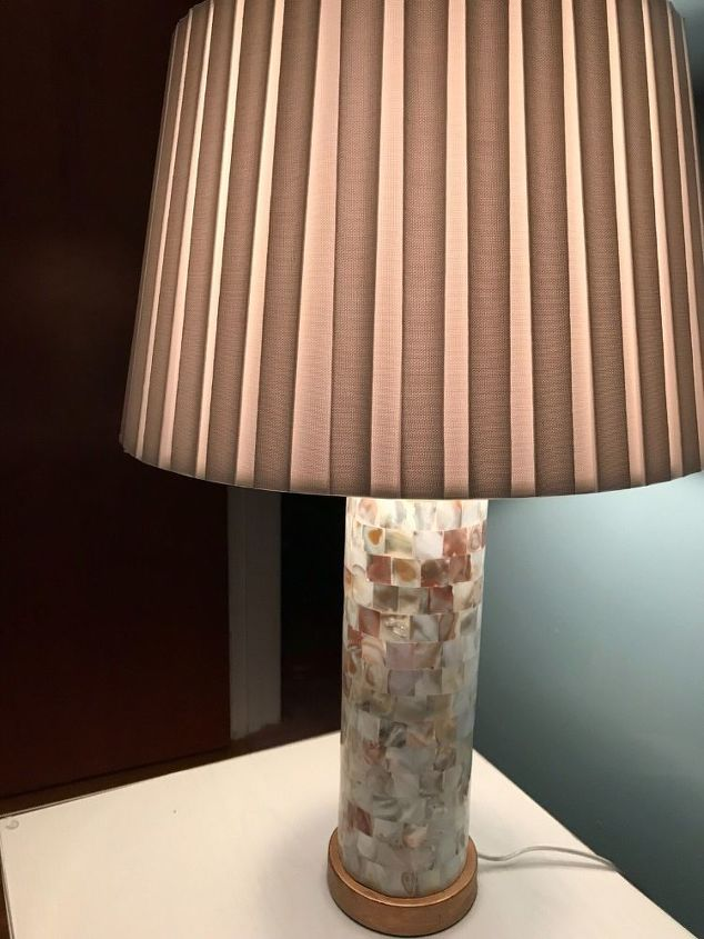 mother of pearl ceiling light cover