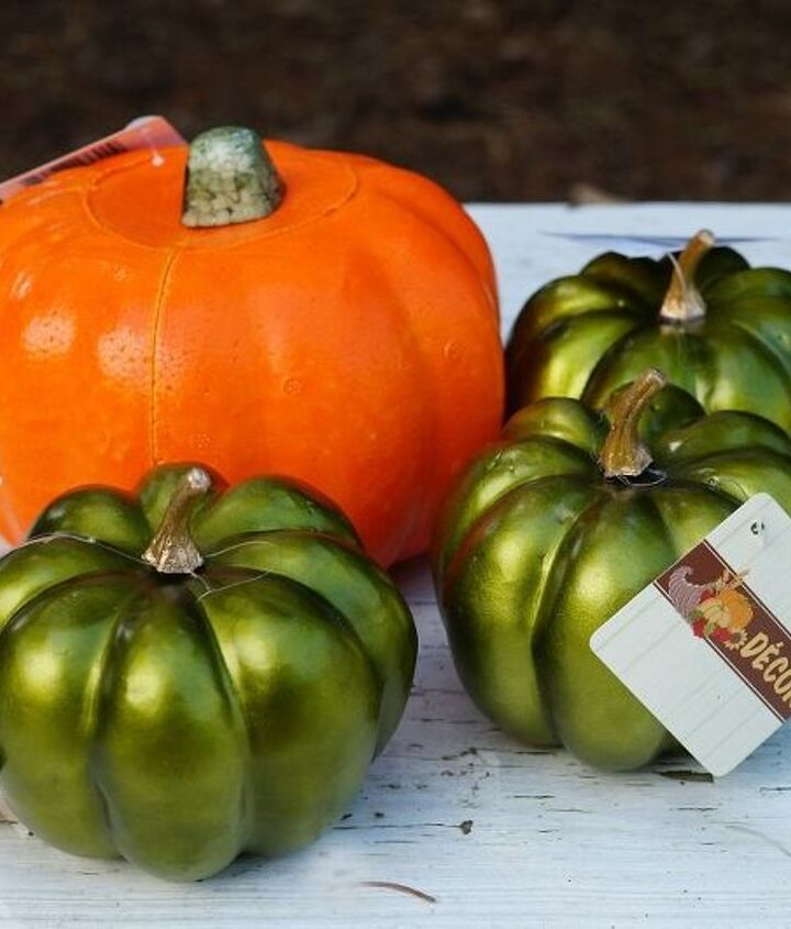 how to make over a dollar store pumpkin