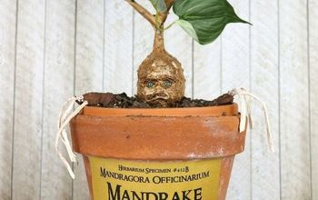 Mandrake Tutorial:  A Harry Potter or Creepy Halloween DIY Project