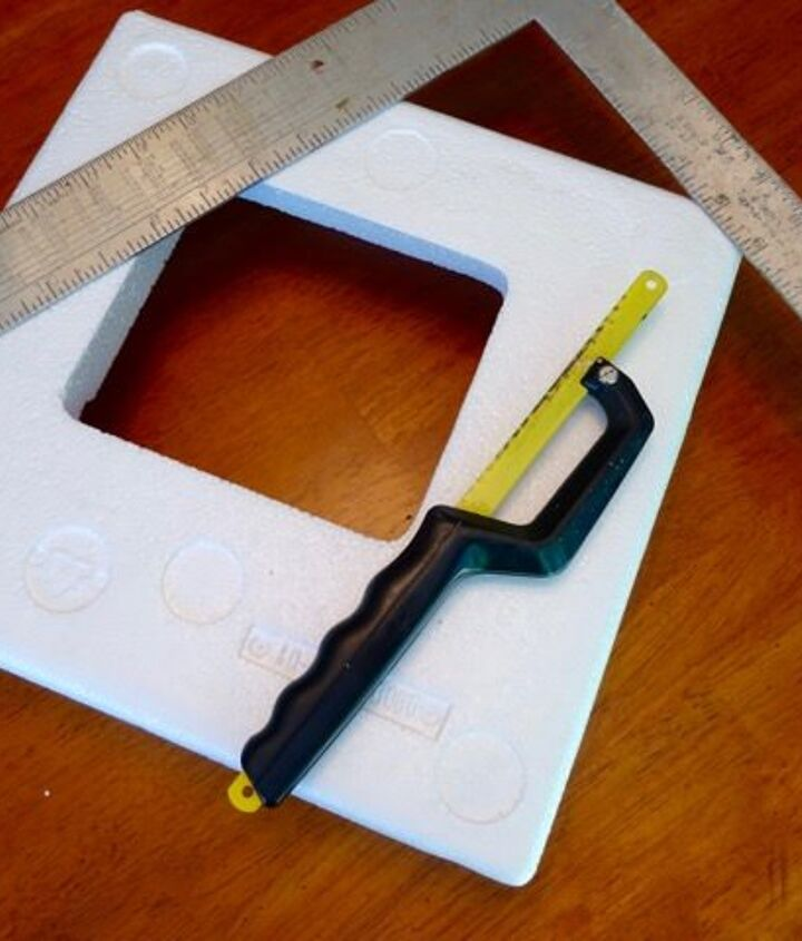 make an easy diy display stand out of scraps