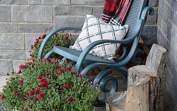 how to paint a vintage rocking chair