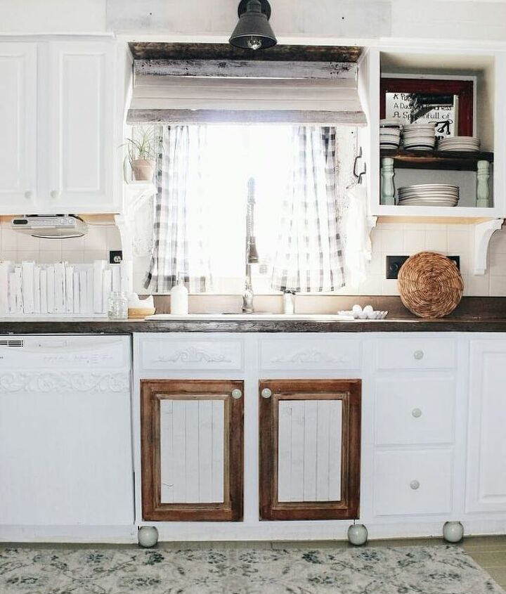 farmhouse kitchen awning