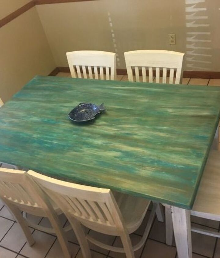 dining table simply redone