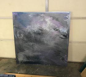 Diy Acrylic Paint Pour Wall Art Hometalk