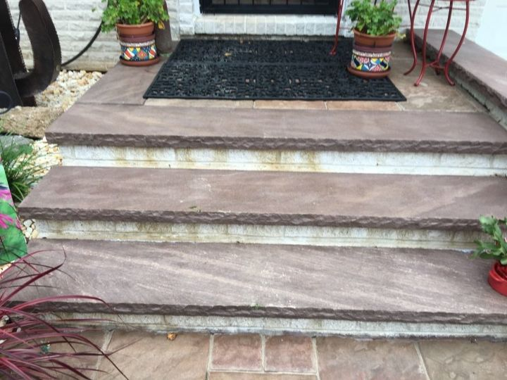 q how do i clean my bricks and pavers