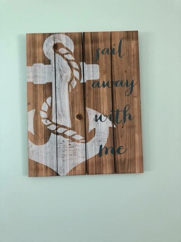 q how to i transfer a picture and wording to wood