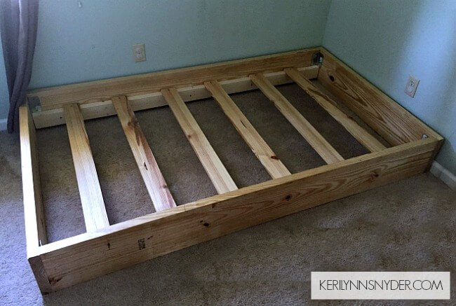 diy twin bed frame